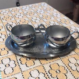 Vintage 1950s tea set